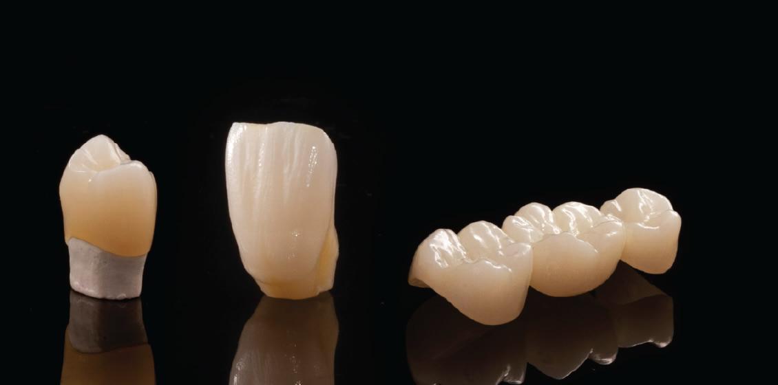 Dentes com morfologia apenas maquiados em Bloco Multilayer TT