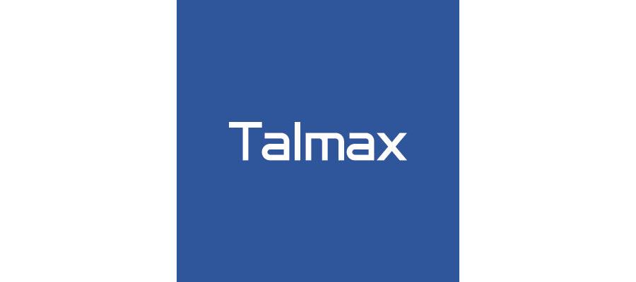 Logo Talmax (branca)